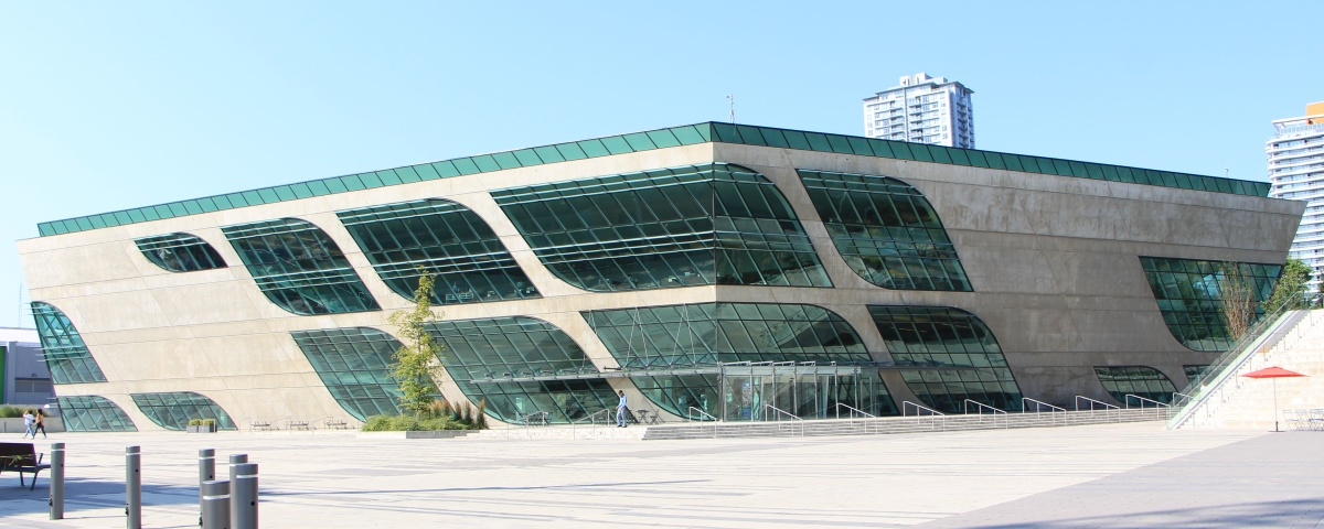 Exterior of the City Centre Library