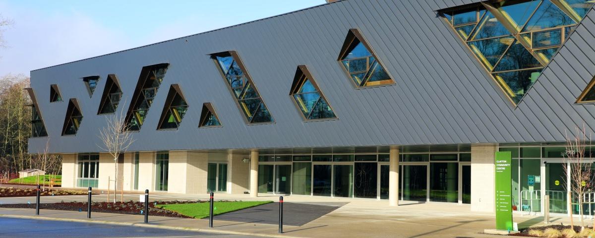 Large recreation centre