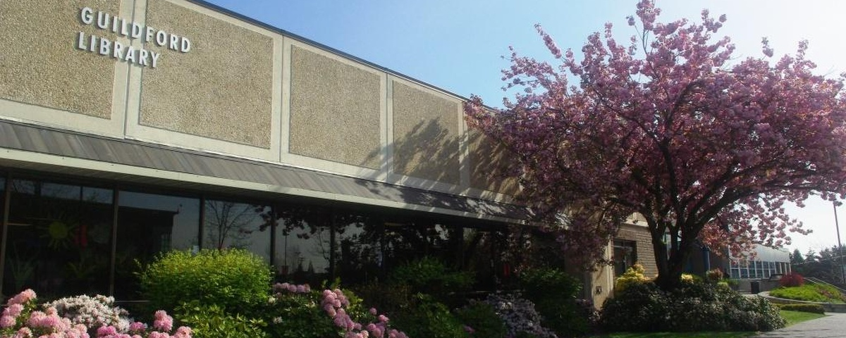 Exterior of the Guildford Library