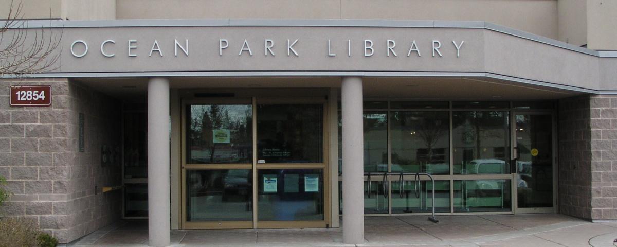 Exterior of the Ocean Park Library
