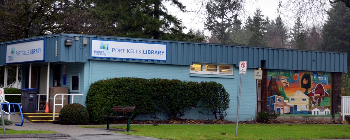 Exterior of the Port Kells Library