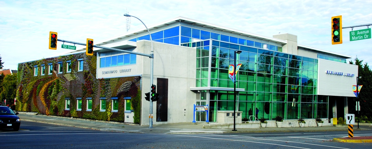 Exterior of the Semiahmoo Library